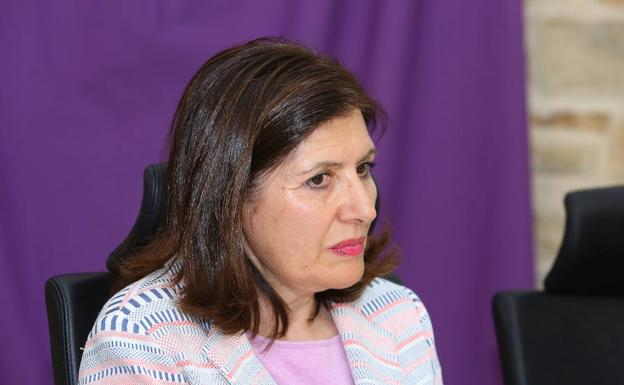 Misericordia Bello, presidenta del CR de la DO Bierzo./César Sánchez
