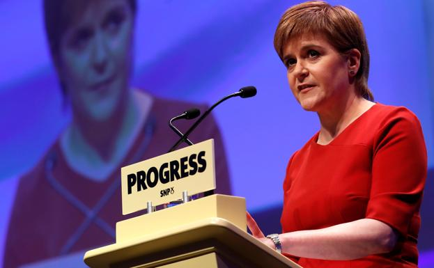 Nicola Sturgeon./Reuters