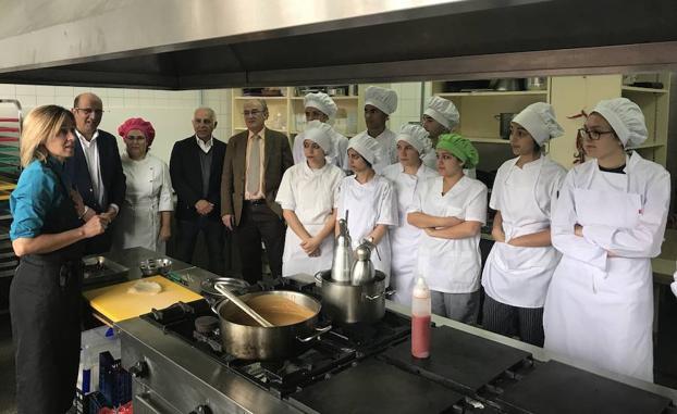 La diputaci n pone en marcha el proyecto piloto 39 los - Fp de cocina ...