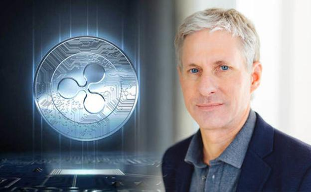 Chris Larsen, cofundador de la moneda virtual Ripple./Ripple