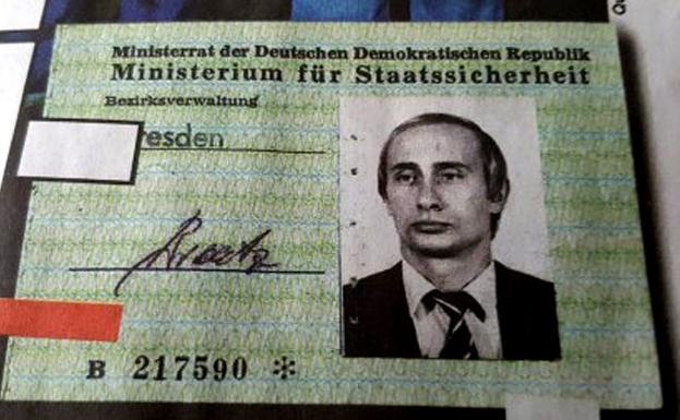 Cuando Putin fue agente de ¿Alemania del Este — Juego de espías