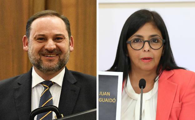 Equipo de Ábalos confirmó reunión entre el ministro y Delcy Rodríguez