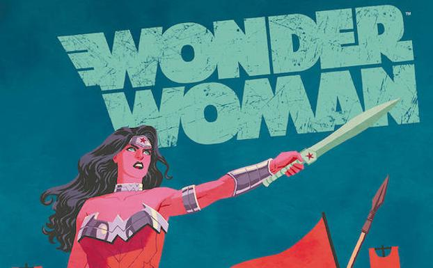 Portada de 'Wonder Woman: Huesos'.