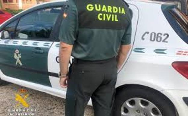Un agente de la Guardia Civil./
