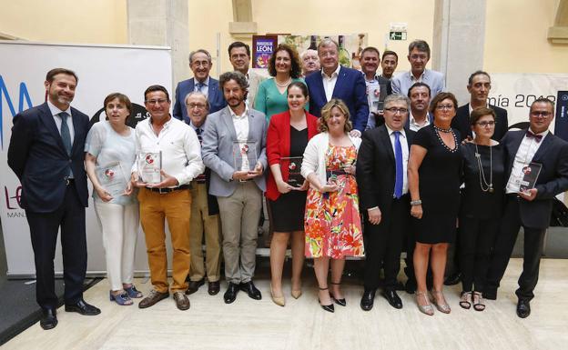 Entrega de los Premios de la Gastronomía de la Castilla y León.