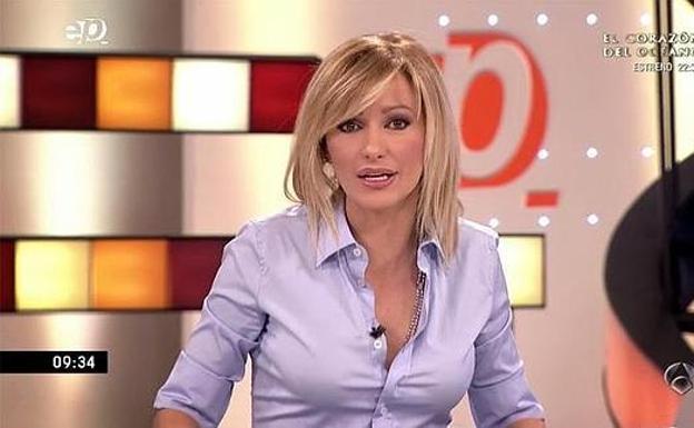 Susanna griso angustiada por tanta fama leonoticias for Antena 3 espejo publico hoy