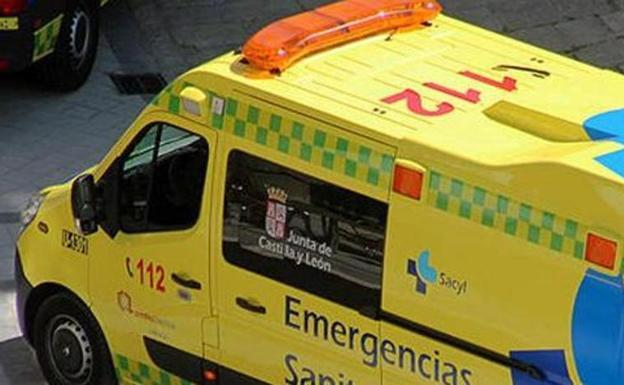 Ambulancia de Sacyl./