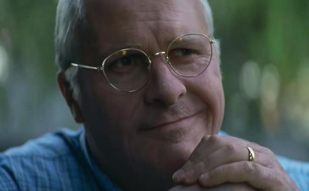 Christian Bale en el papel de Dick Cheney. /