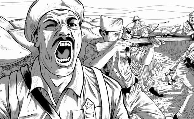 Un afroamericano al mando en la Guerra Civil española | Leonoticias