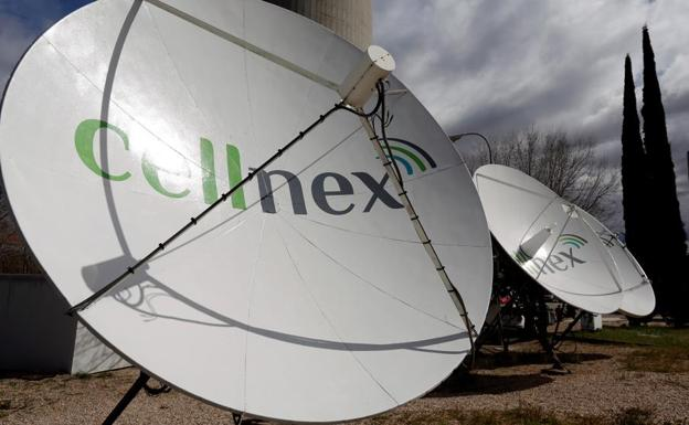 Antenas de Cellnex./Reuters