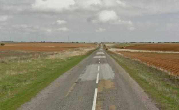 Una de las carreteras de la provincia de León./