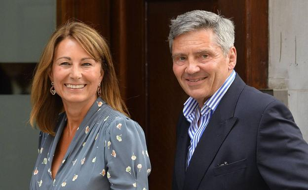 Michael y Carole Middleton./Reuters