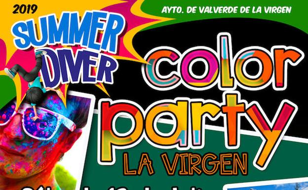 La Color Party llega a La Virgen del Camino