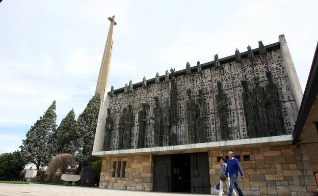 Santuario de La Virgen del Camino./Campillo
