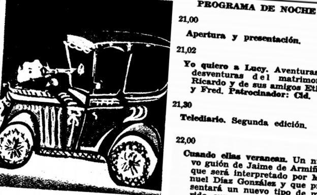 Detalle de la programación de 1960 en 'Tele-Radio'.