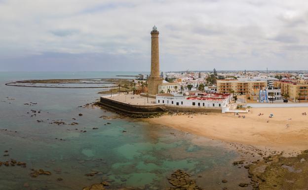 Faro de Chipiona, en Cádiz.
