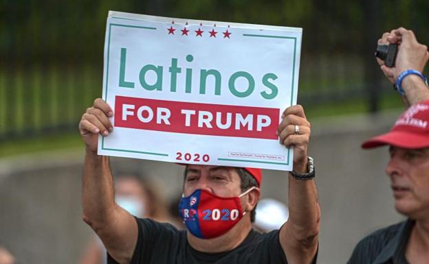 El voto latino, fundamental para la victoria de Biden