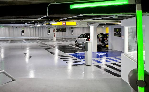 parking electrico(1) U07806355884dIB
