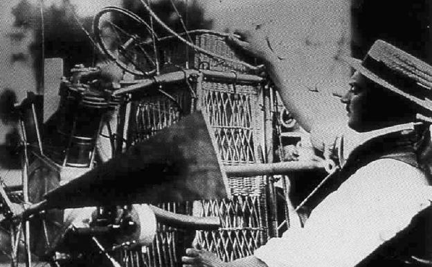 Motor giratorio de 1905