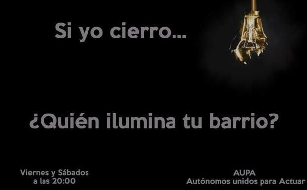 Imagen de la campaña lanzada por AUPA./