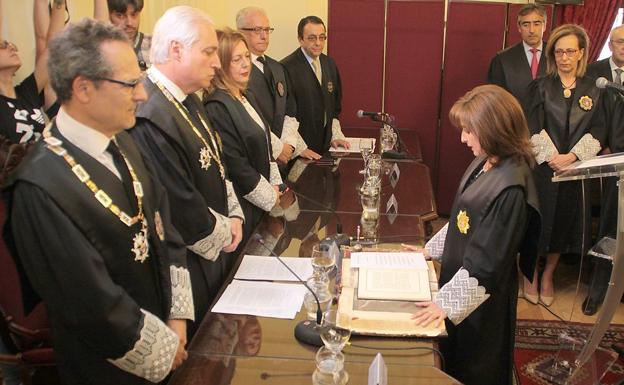 Ana del Ser opta a la reelección de la presidencia de la Audiencia Provincial de León y expone su currículo este miércoles ante el CGPJ