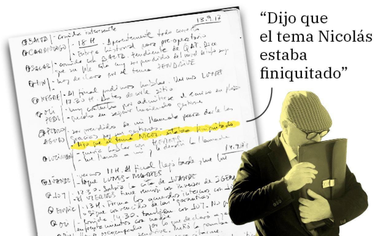 Villarejo Anotó Seguimientos A Los Investigadores Del Pequeño Nicolás Para Boicotear El Caso Leonoticias