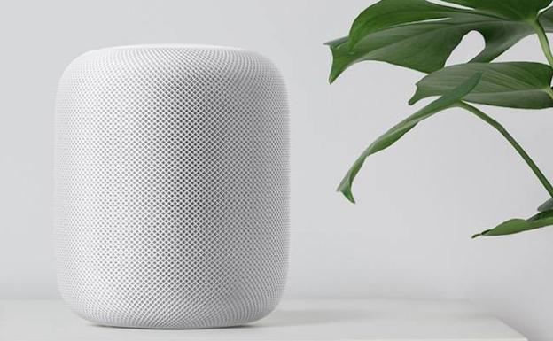HomePod, el altavoz de Apple./